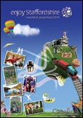 Enjoy Staffordshire brochure cover from 15 December, 2009