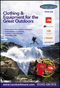 Taunton Leisure Outdoor Clothing & Equipment brochure cover from 09 April, 2009