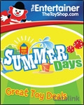 The Entertainer Toyshop catalogue cover from 22 July, 2014