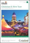 Titan Xmas & New Year brochure cover from 13 June, 2014