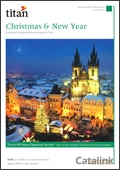Titan Xmas & New Year brochure cover from 09 July, 2014