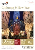 Titan Xmas & New Year brochure cover from 01 July, 2015