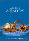 Voyages Jules Verne - World of Wonders brochure cover from 21 July, 2015