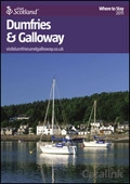 Explore Scotland: The Dumfries & Galloway Where to Stay Guide brochure cover from 07 July, 2011