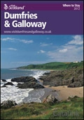 Explore Scotland: The Dumfries & Galloway Where to Stay Guide brochure cover from 20 March, 2012