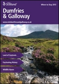 Explore Scotland: The Dumfries & Galloway Where to Stay Guide brochure cover from 18 February, 2013