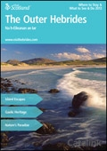 Explore Scotland: The Outer Hebrides Where to Stay & What to See & Do Guide brochure cover from 18 February, 2013