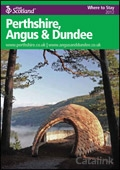 Explore Scotland: Perthshire What to See & Do Guide brochure cover from 26 March, 2012