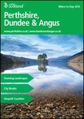 Explore Scotland: Perthshire What to See & Do Guide brochure cover from 18 February, 2013
