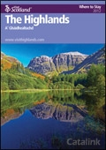 Explore Scotland: Moray Where to Stay Guide brochure cover from 20 March, 2012