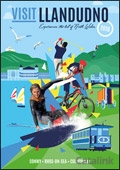 Visit Llandudno brochure cover from 07 January, 2016