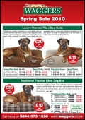 Waggers catalogue cover from 17 March, 2010