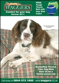 Waggers catalogue cover from 04 April, 2011