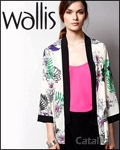 Wallis catalogue cover from 11 July, 2014