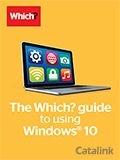 The Which? guide to using Windows 10 brochure cover from 28 February, 2017