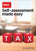 Which? Self-assessment made easy brochure cover from 20 October, 2014
