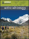 Active Adventures from World Expeditions catalogue cover from 04 June, 2009