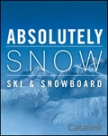 Absolutely Snow - Ski and Snowboard brochure cover from 08 August, 2012