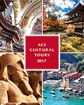 Ace Cultural Tours brochure cover from 13 September, 2016