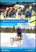 Activities Abroad - Adult Summer brochure cover from 26 July, 2007