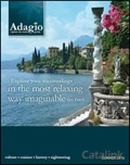 Adagio Walking Holidays brochure cover from 16 September, 2013