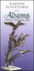 Adams Garden Sculptures catalogue cover from 06 June, 2005