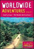 The Adventure Company Worldwide Adventures brochure cover from 11 July, 2006