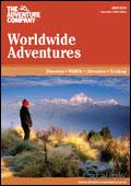 The Adventure Company Worldwide Adventures brochure cover from 25 September, 2008