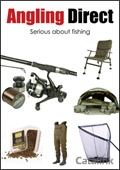 Angling Direct Fishing Supplies brochure cover from 24 June, 2014
