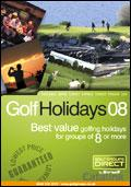 Barwell Leisure - Golf Groups Direct brochure cover from 18 December, 2007