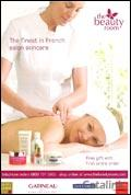 Gatineau Skincare brochure cover from 14 June, 2005