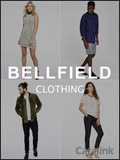 Bellfield Clothing brochure cover from 19 May, 2017