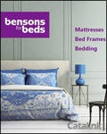 Bensons for Beds brochure cover from 22 January, 2016