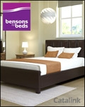 Bensons for Beds brochure cover from 02 February, 2016