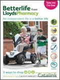 Betterlife from Lloyds Pharmacy brochure cover from 12 July, 2017
