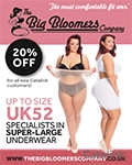 Big Bloomers - Plus Size Underwear brochure cover from 06 July, 2016