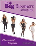 Big Bloomers - Plus Size Underwear brochure cover from 17 August, 2015