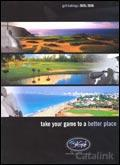 Bill Goff Golf Tours brochure cover from 05 August, 2005