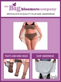 Big Bloomers - Plus Size Underwear brochure cover from 02 September, 2015