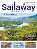 Sailaway Magazine - A Passage to India brochure cover from 25 February, 2019