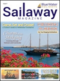 Sailaway Magazine - Charms of the Mekong brochure cover from 25 February, 2019