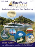 Blue Water Holidays - Spring  brochure cover from 29 July, 2019