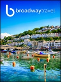 Broadway Travel brochure cover from 25 October, 2017