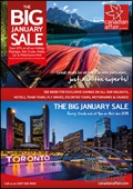 Canadian Affair - January Sale brochure cover from 10 January, 2018