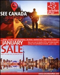 Canadian Affair - January Sale brochure cover from 15 December, 2015