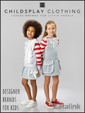 Childsplay Clothing catalogue cover from 16 October, 2017