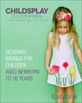Childsplay Clothing catalogue cover from 06 July, 2015
