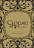 Clogau - Gold of Royalty catalogue cover from 15 August, 2013