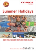 Cosmos Summer Holidays brochure cover from 19 August, 2011