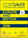 Trafalgar Cost Saver Europe and Britain 2018 brochure cover from 04 January, 2018